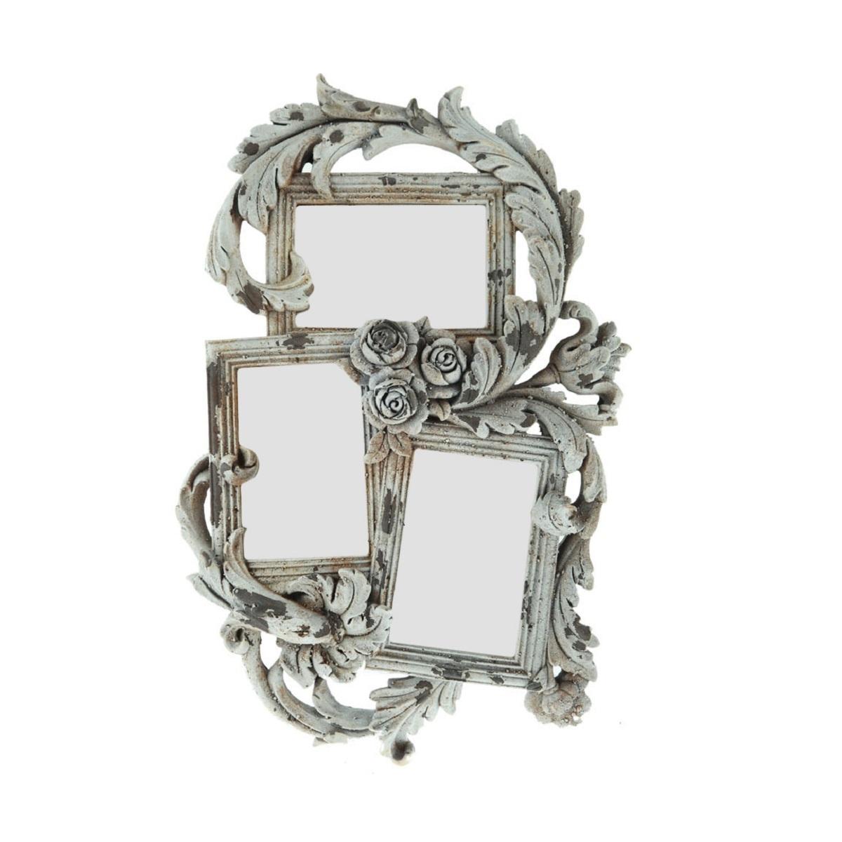 Зеркала Зеркало декоративное Decor тройное 78081AW zerkalo-dekorativnoe-decor-troynoe-78081aw-kitay.jpg