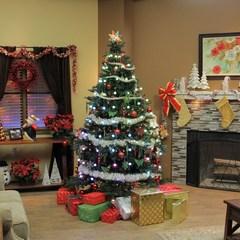 Конусная гирлянда Tree Dazzler - 64 лампы - на новогоднюю елку