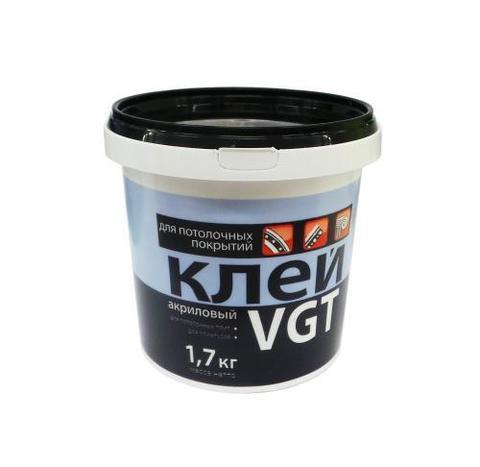 Клей акриловый для потолочных покрытий 1,7кг ВГТ