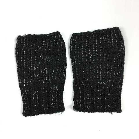Перчатки-митенки для оригинального образа