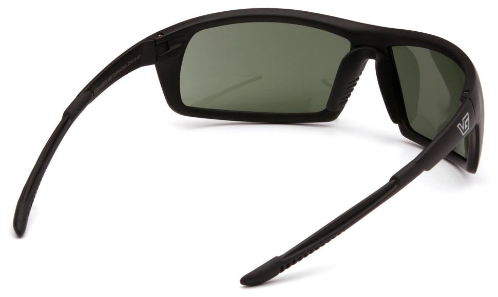 Очки баллистические стрелковые Pyramex Stonewall VGSB422T Anti-fog темно-зеленые 10%