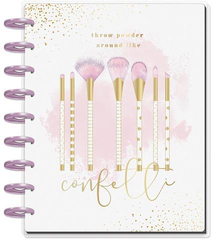 Ежедневник 2020г Deluxe Classic Happy Planner®  -19,5х24,5см- Confetti Glam Girl