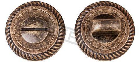 Завёртка К Ручкам квадратная Puerto BK AL 17, цвет бронза античная матовая