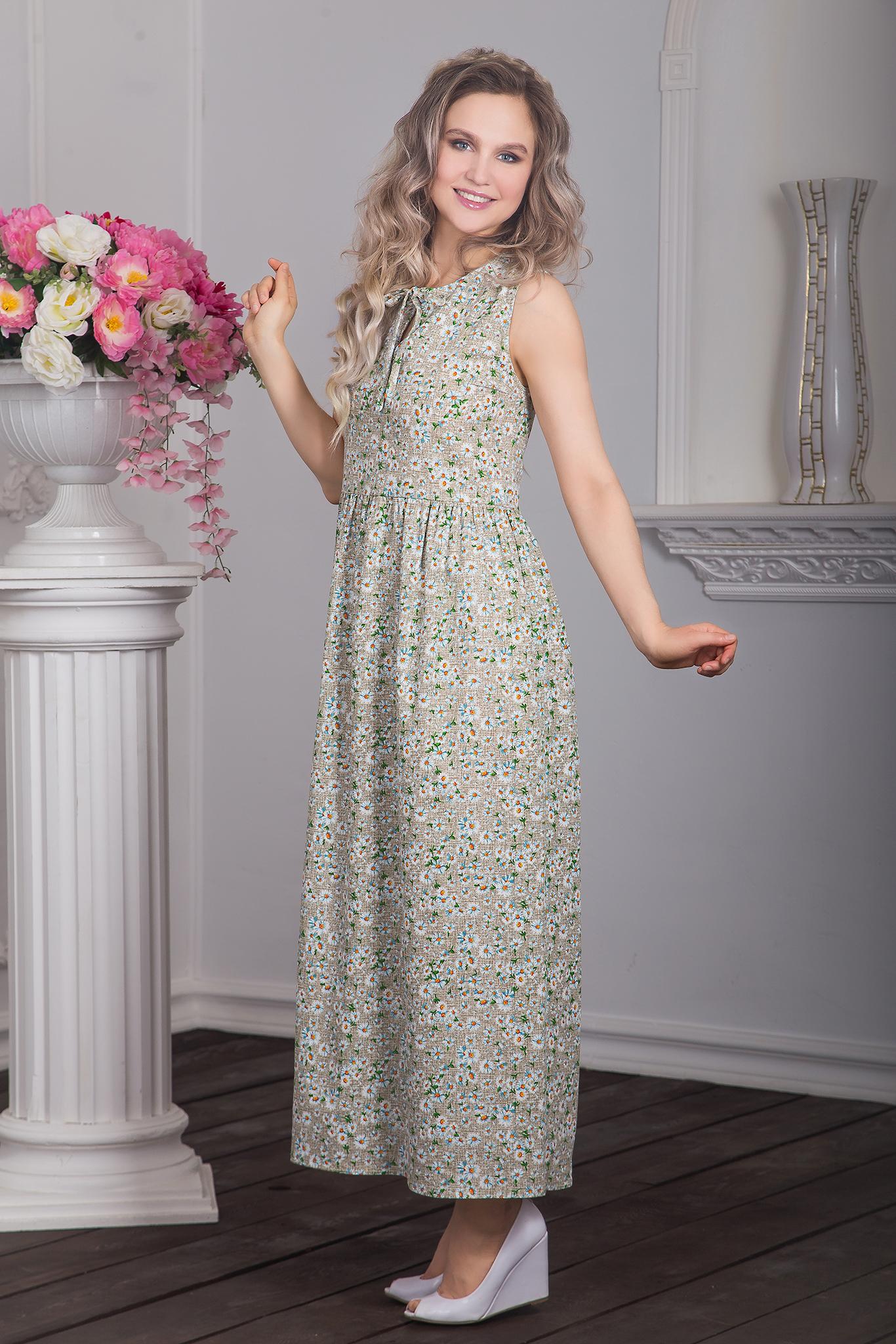 Вид сбоку Платье Добродея