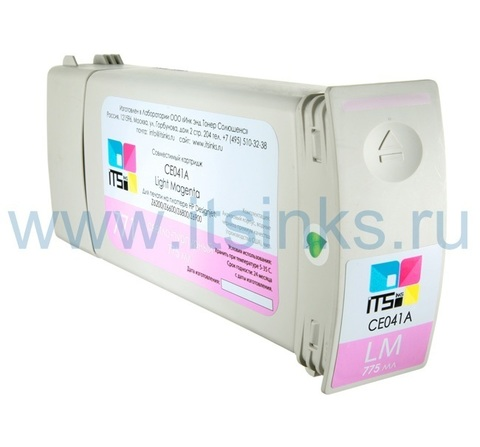 Картридж для HP 773 (C1Q41A) Light Magenta 775 мл