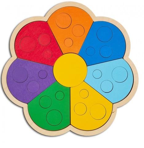 Мозаика-сортер Цветик-семицветик, RadugaKids (Радуга Кидс)