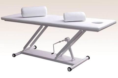 Массажный стол М-1 с механическим  регулятором высоты