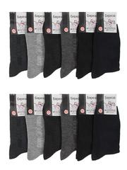 Б09 носки мужские, цветные 41-48 (12шт)