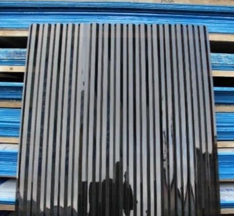 Профилированный поликарбонат трапеция МП-20 прозрачный бронза коричневый 1,05х2 1,3 мм