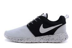 Кроссовки Мужские Nike Roshe Run Noir Blanc Black White
