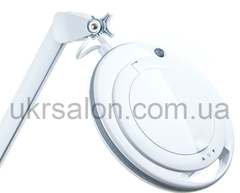 Лампа-лупа 6017 LED-3(5) диоптрий с регулировкой яркости, белый холодный и теплый свет 1-12W