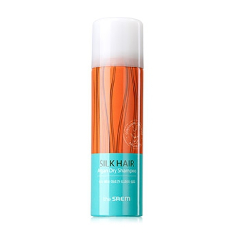 THE SAEM SILK HAIR Шампунь-спрей сухой с арганой SILK HAIR Argan Dry Shampoo 70мл