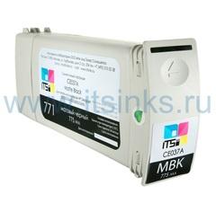 Картридж для HP 773 (C1Q37A) Matte Black 775 мл