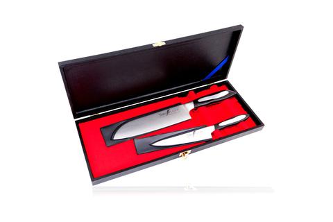 Набор из 2 кухонных ножей Tojiro Flash Damascus (FF-GIFTSET-C)