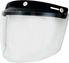 Визор AFX FLIP 3-SNAP SR CLR / Прозрачный