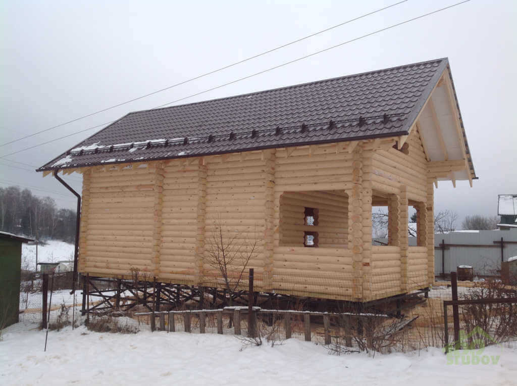 Фото дом с мансардой #395