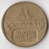 K7131, 1984, Финляндия, 5 марок Ледокол