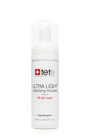 Tete Ultra Light Clensing Mousse - Ультра легкий мусс для умывания