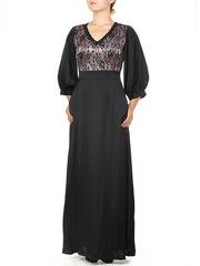P301-9G платье женское, черное