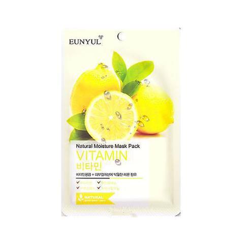 Тканевая маска для лица Eunyul Natural Moisture Mask Pack Vitamin с витаминами
