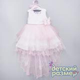 Платье (ободок и брошь пайетки)