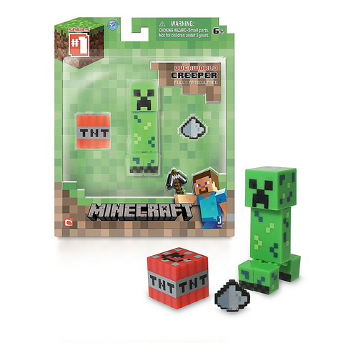 Фигурка Майнкрафт Крипер (Minecraft Creeper)