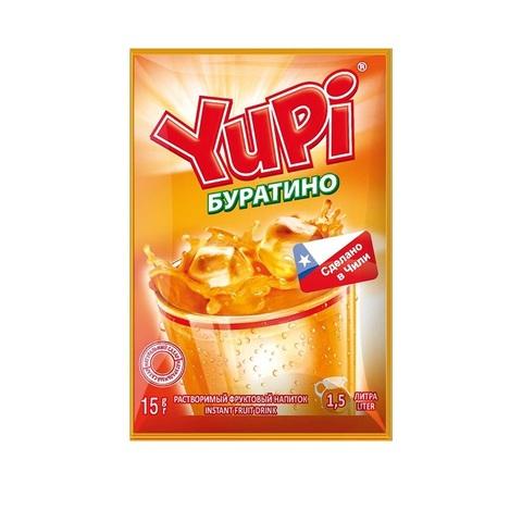 Растворимый напиток YUPI Буратино 1кор*6бл*24шт 15гр.