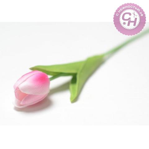 Тюльпан одиночный закрытый, латексный, 35 см, 1 шт.