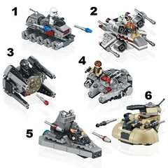 Minifigures Star Wars Blocks Building Series 11