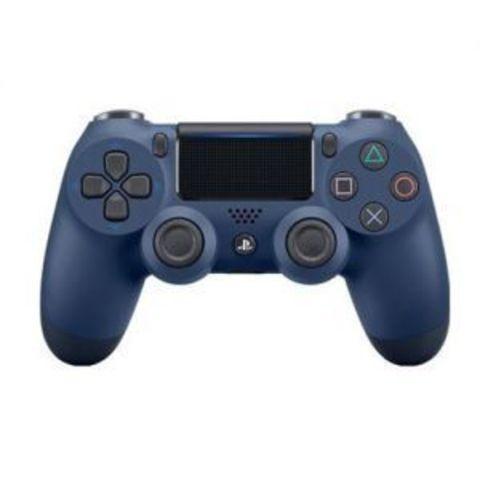 Sony PS4 Беспроводной контроллер DualShock 4 (темно-синий, Midnight Blue, 2ое поколение)