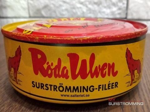 Сюрстремминг Röda Ulven филе в банке