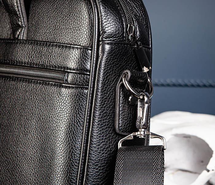 BAG536-1 Вместительный мужской портфель из кожи фото 06