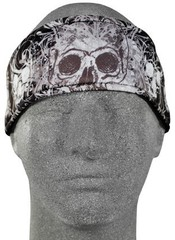 Zan Headgear hikinauha DaVinci Skull