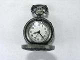 Основа для часов, металлическая, 41x27 мм, посеребренная, 1 шт.