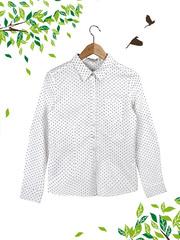 21052 рубашка женская, белая