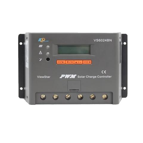 Контроллер заряда EPSolar VS6024BN (PWM, 60A, 12/24В, LCD дисплей)
