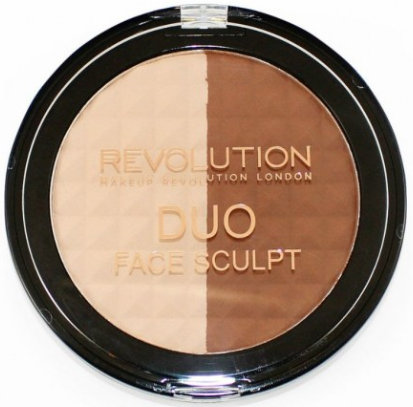 Revolution Duo Face Sculpt компактная палетка для контура 15 г