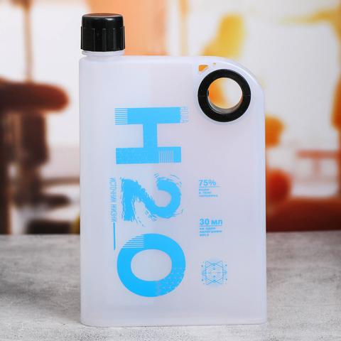 Бутылка для воды плоская