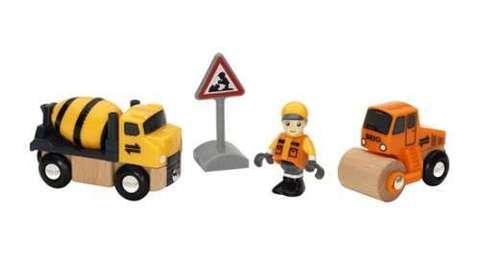 BRIO 33733 Набор строительной техники