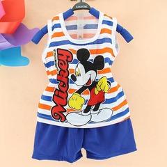 Микки Маус детский комплект майка и шорты