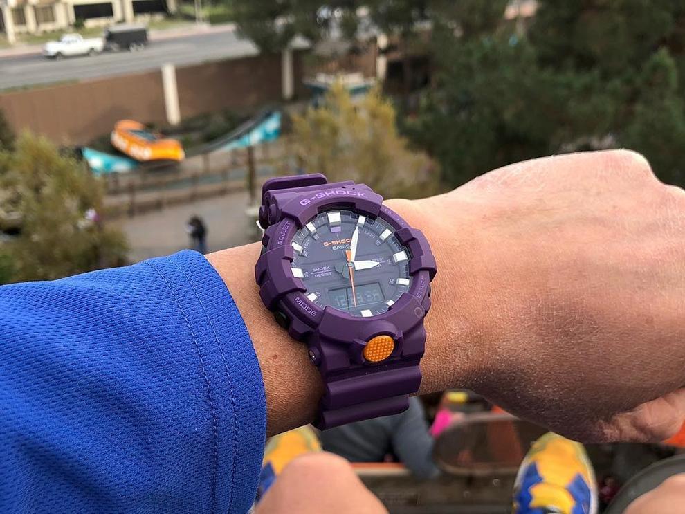 cd2a9289 ... Купить Наручные часы Casio G-Shock GA-800SC-6A по доступной цене ...