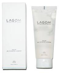 LAGOM Cellup Gel to Water Cleanser очищающий гель для умывания 220 мл