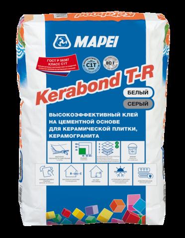 Mapei Kerabond T-R/Мапей Керабонд Т-Р высокоэффективный клей на цементной основе для керамической плитки и керамогранита класса С1Т