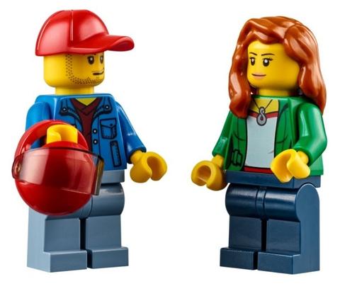 LEGO City: Перевозчик песчаного багги 60082