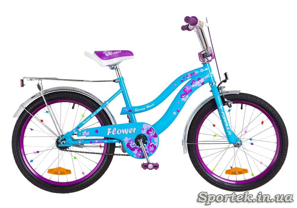 Велосипед Formula Flower с колесами 20