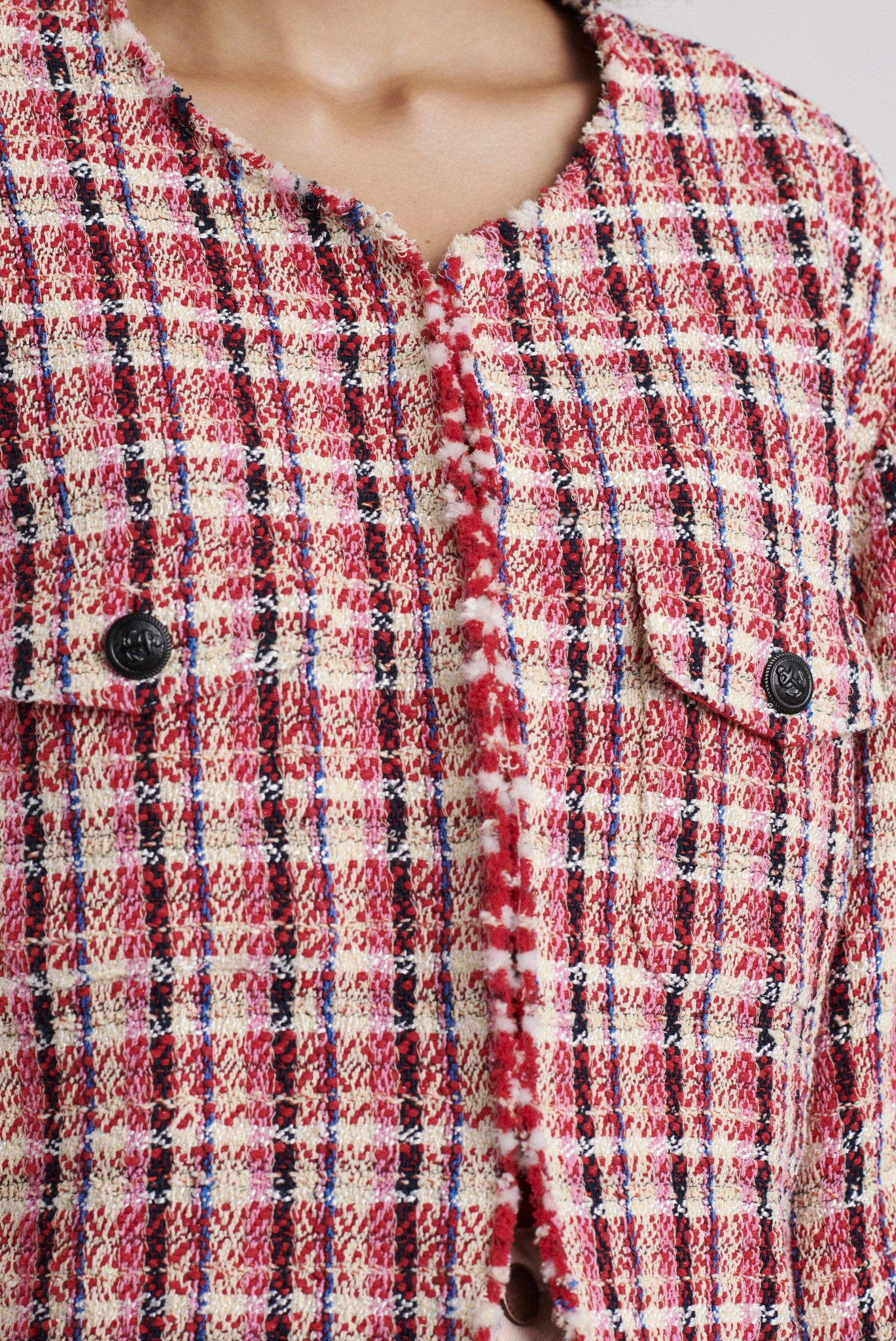 ALBA - Укороченный жакет из твида