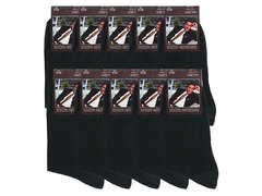 A-2 Хлопок носки мужские (10шт), черные