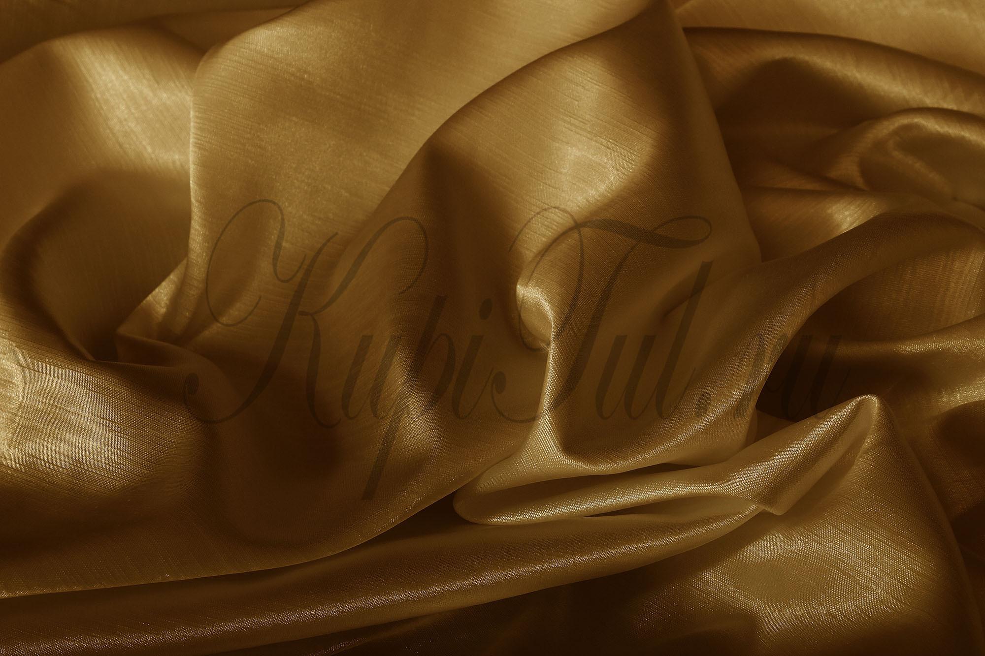 Leonardo (Коричневый), Шторы из однотонного шик-сатена.