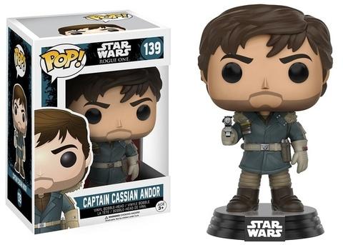Фигурка Funko Pop! Star Wars: Rogue One - Captain Cassian Andor