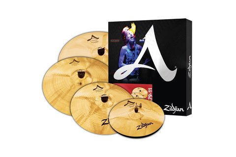 ZILDJIAN A CUSTOM SET 5 PACK комплект тарелок